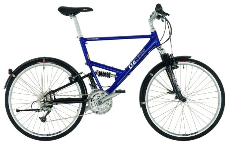 Riese und Müller Delite blue Trekkingbike