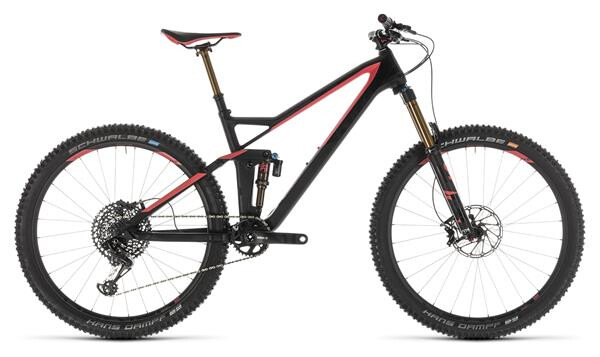 CUBE - Sting WS 140 HPC SL 27.5 carbon´n´coral