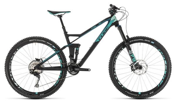 CUBE - Sting WS 140 HPC Race 27.5 carbon´n´mint