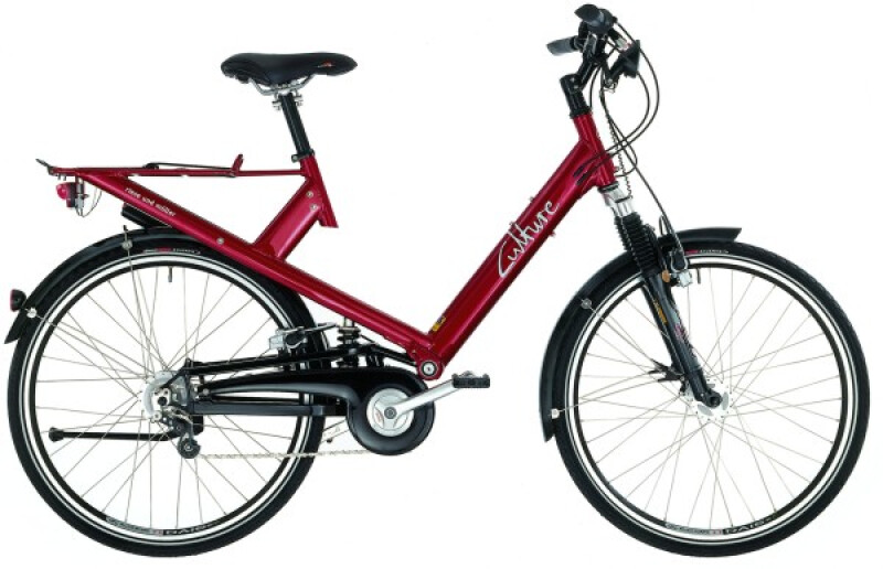 Riese und Müller Culture red Trekkingbike