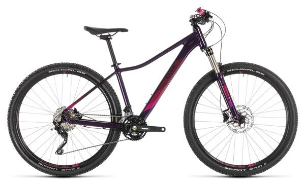 CUBE - Access WS Race aubergine´n´berry