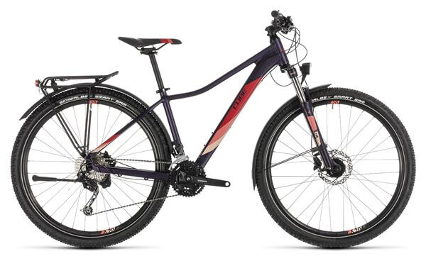 CUBE - Access WS Pro Allroad aubergine´n´rose