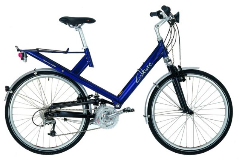 Riese und Müller Culture blue Trekkingbike