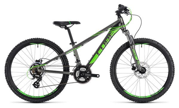 CUBE - Kid 240 Disc grey´n´flashgreen