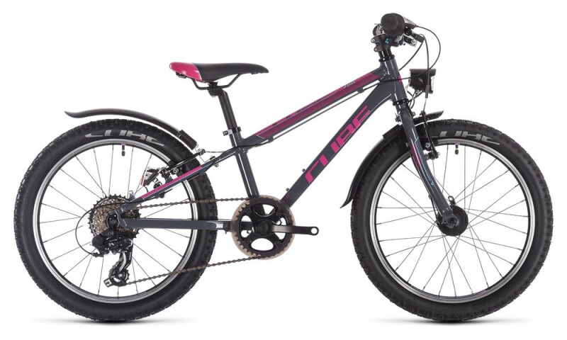 Cube Access 200 Allroad grey´n´blue´n´pink Kinder / Jugend