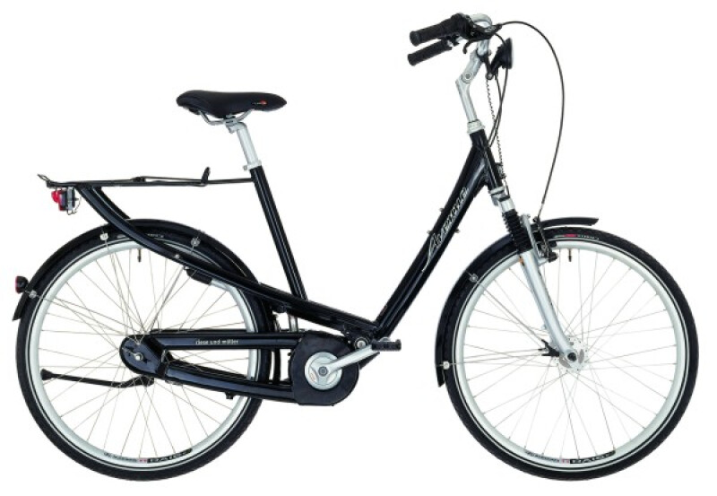 Riese und Müller Avenue black Citybike