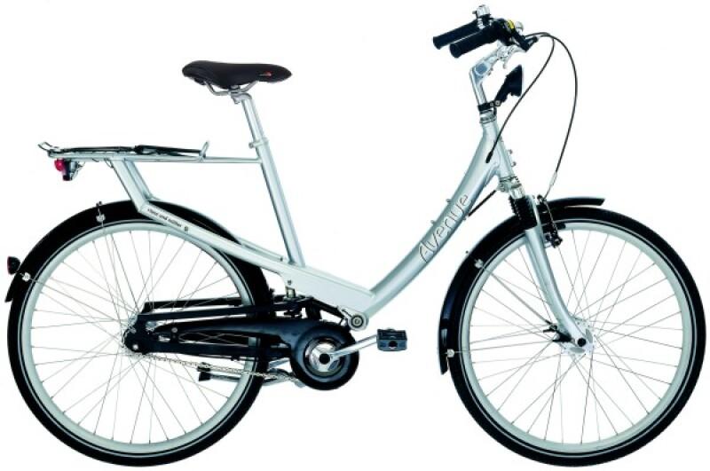 Riese und Müller Avenue silber Citybike