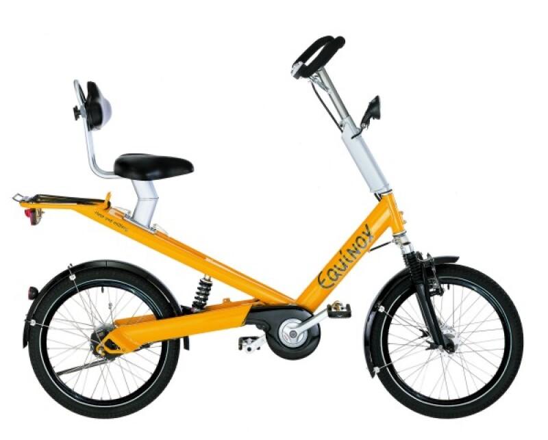 Riese und Müller Equinox yellow Citybike