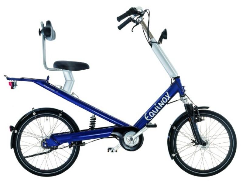 Riese und Müller Equinox blue Citybike