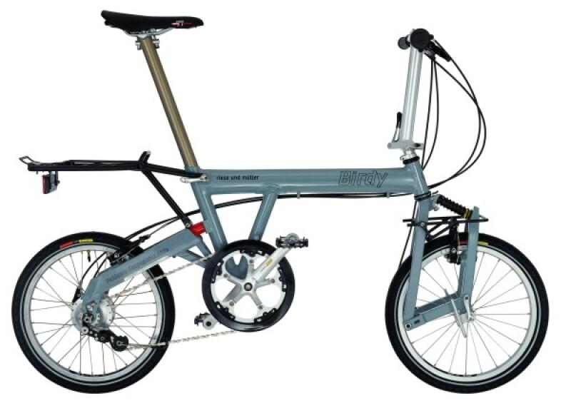 Riese und Müller Birdy grey Faltrad