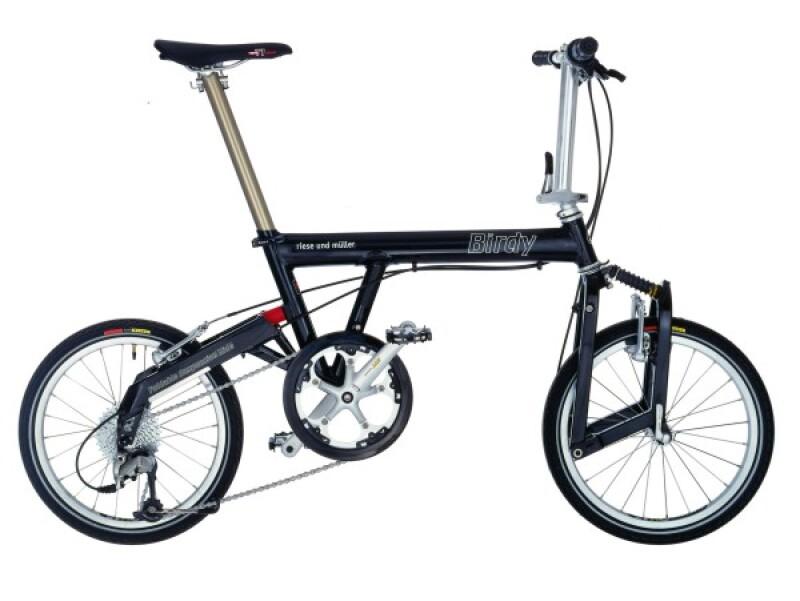 Riese und Müller Birdy black Faltrad