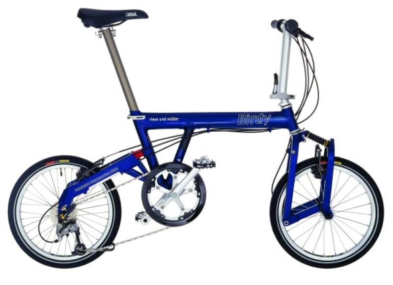Riese und Müller Birdy blue Faltrad