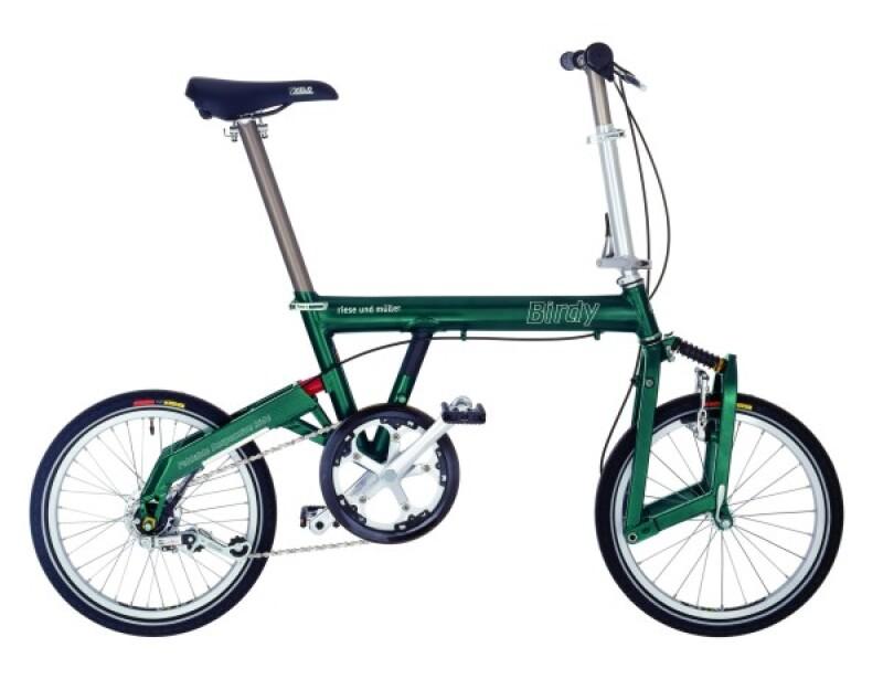 Riese und Müller Birdy green Faltrad