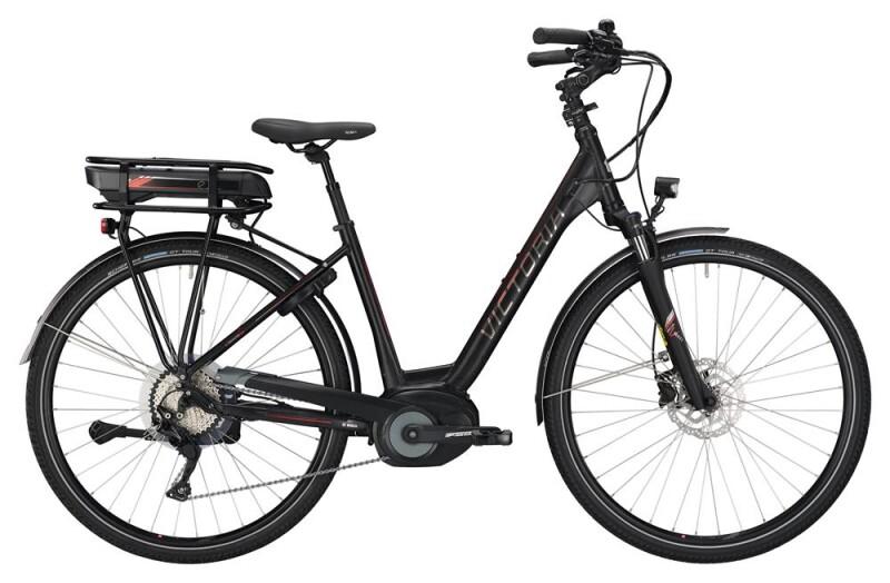 Victoria eTrekking 8.8 Wave black matt/red E-Bike