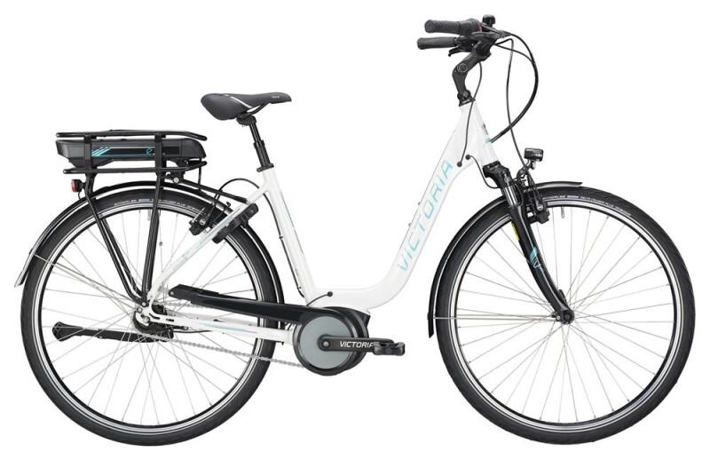 Victoria eTrekking 5.10 SE Deep mistywhite/coolgrey E-Bike