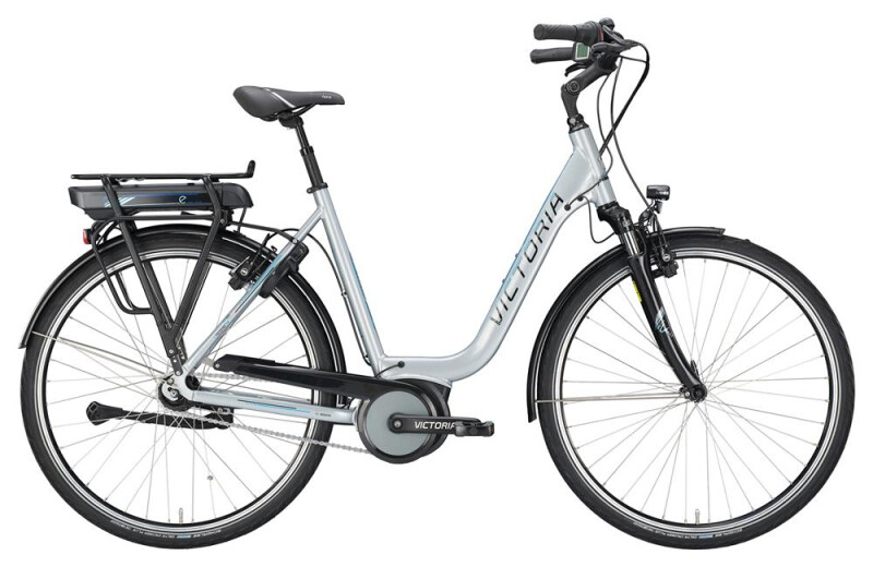 Victoria eTrekking 5.7 SE Deep silvergrey/lightblue E-Bike