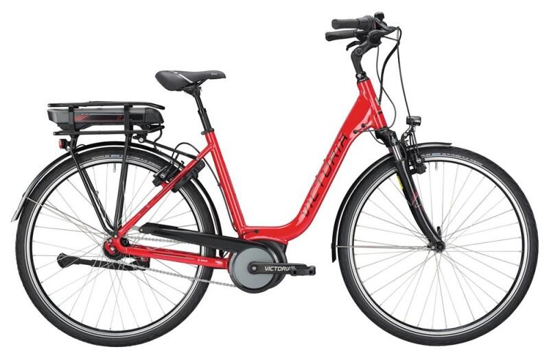 Victoria eTrekking 5.6 SE Deep raspberry red/black E-Bike