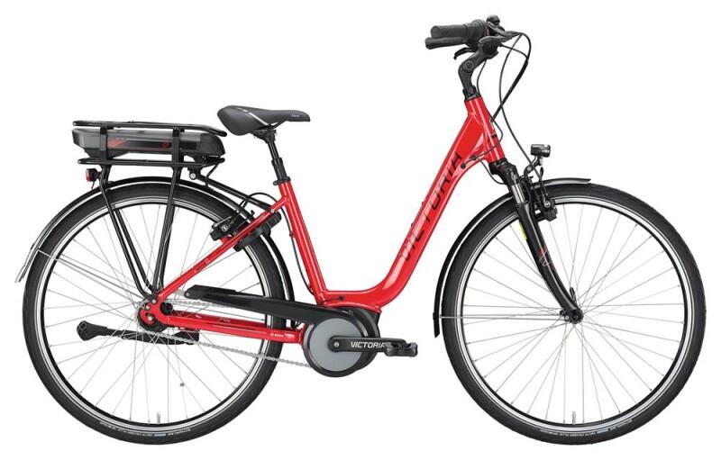 Victoria eTrekking 5.5 SEC Deep raspberry red/black E-Bike