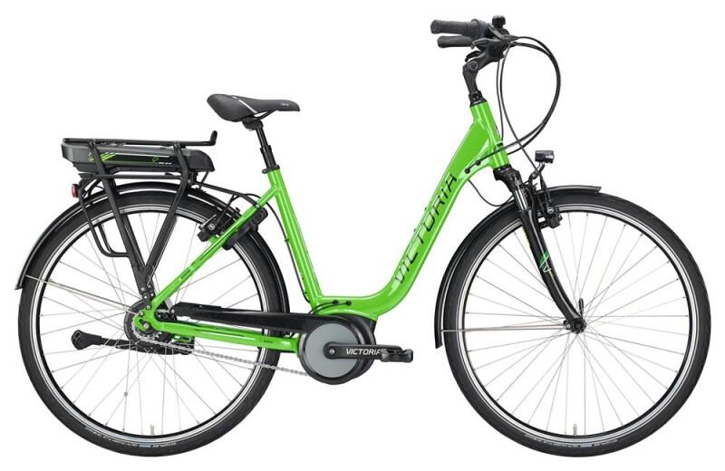Victoria eTrekking 5.11 SE Deep limegreen/black E-Bike