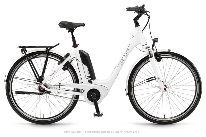 Winora Sinus Tria N7 Weiß E-Bike