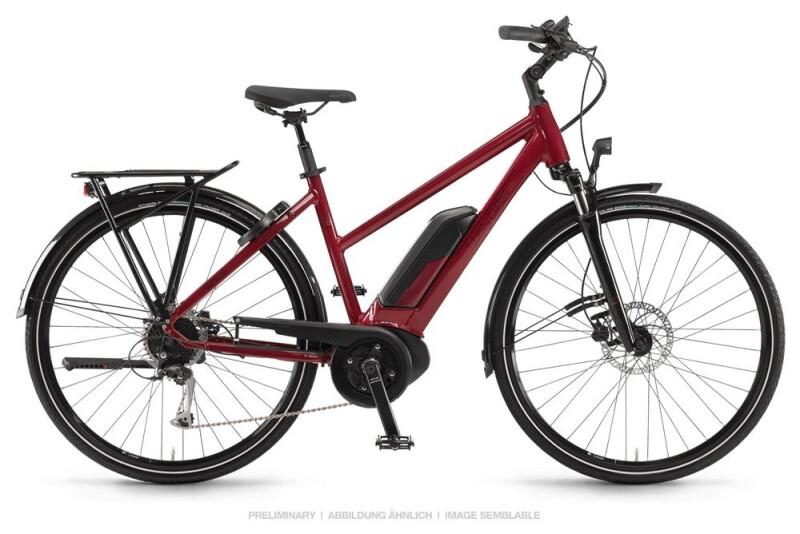 Winora Sinus Tria 9 Lasurrot Damen E-Bike