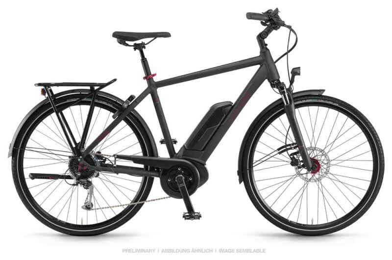 Winora Sinus Tria 9 Schwarz Herren E-Bike