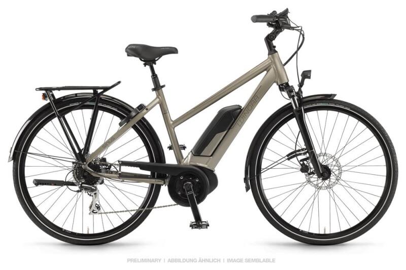 Winora Sinus Tria 8 Sandstein Damen E-Bike