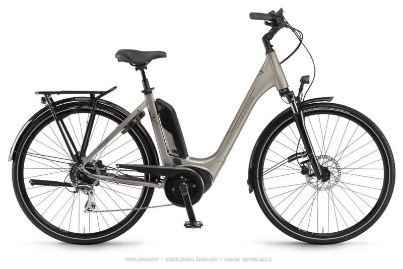 Winora Sinus Tria 8 Sandstein Einrohr E-Bike