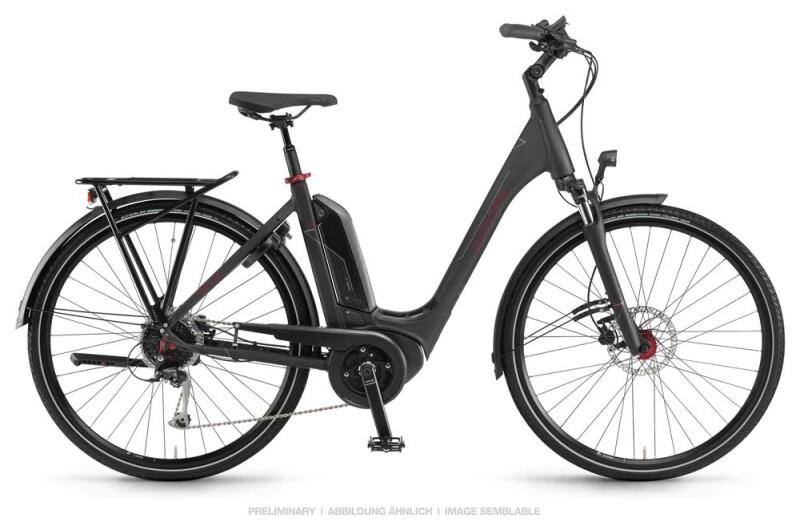 Winora Sinus Tria 9 Schwarz Einrohr E-Bike