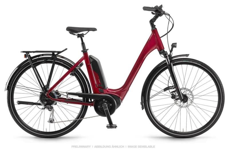 Winora Sinus Tria 9 Lasurrot Einrohr E-Bike