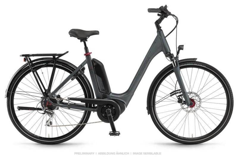 Winora Sinus Tria 8 Dullgray Einrohr E-Bike