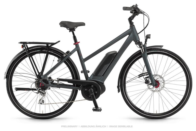 Winora Sinus Tria 8 Dullgray Damen E-Bike