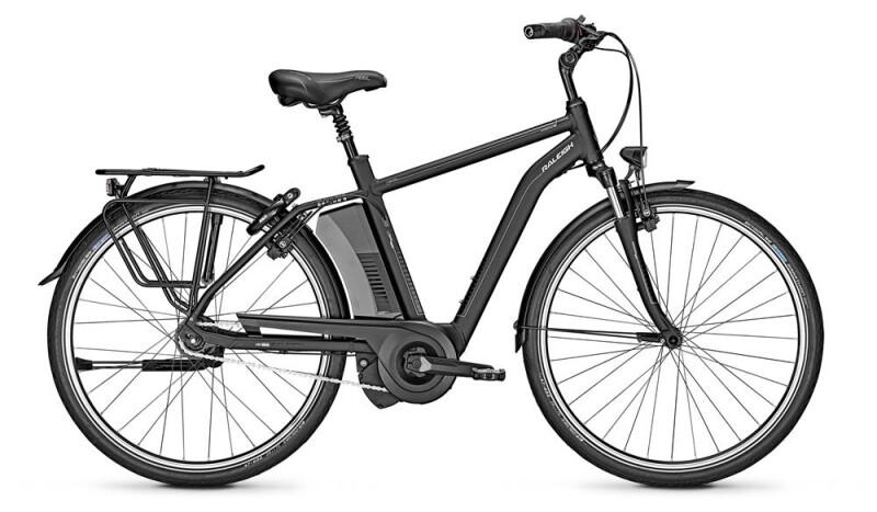 Raleigh BOSTON 8 schwarz Diamant E-Bike
