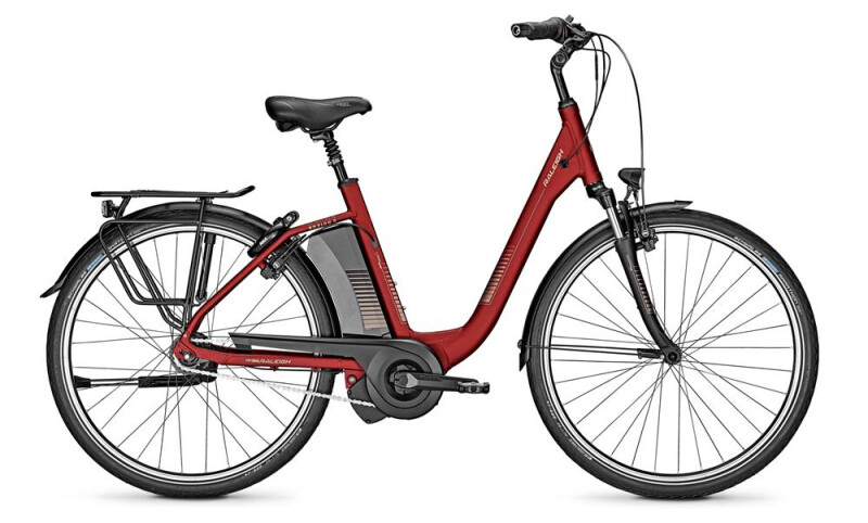Raleigh BOSTON 8 red Comfort