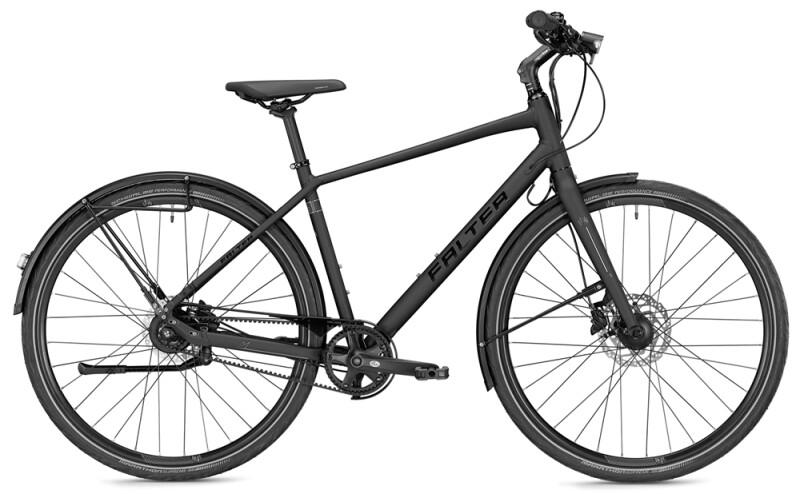 Falter U 8.0 Herren schwarz/silber Matt Citybike