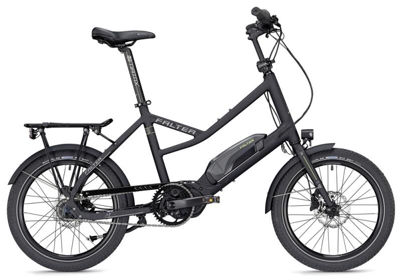Falter E-COMPACT 1.0 unisex schwarz matt E-Bike