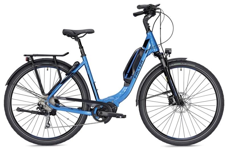 Falter E 8.9  Wave blau/schwarz E-Bike
