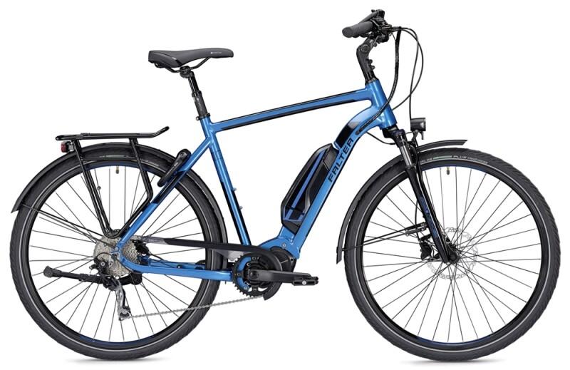 Falter E 8.9  Herren blau/schwarz E-Bike