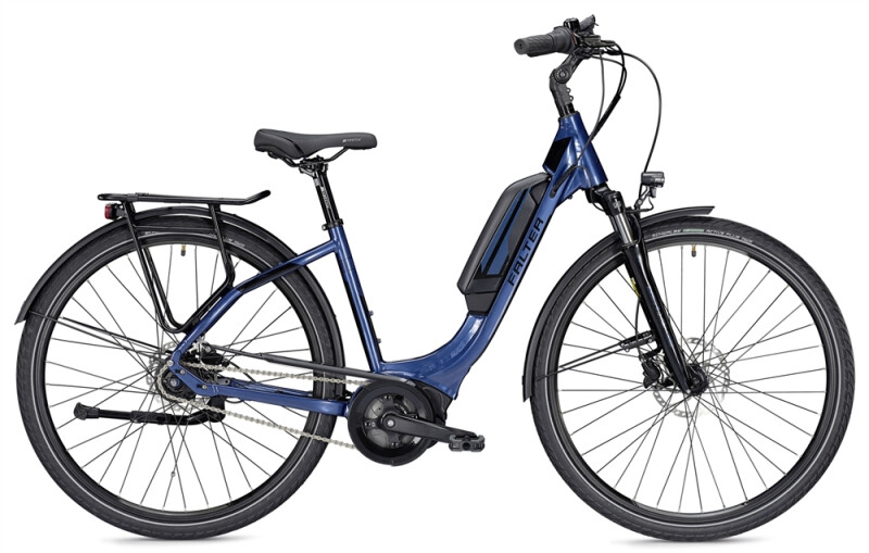 Falter E 9.0 RT 400 Wh Wave blau/schwarz E-Bike