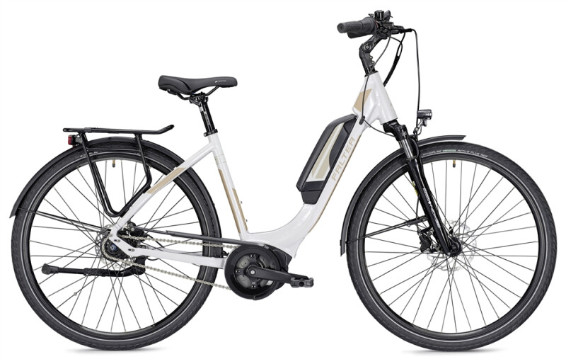 Falter E 9.0 FL 400 Wh Wave weiß/champagner E-Bike
