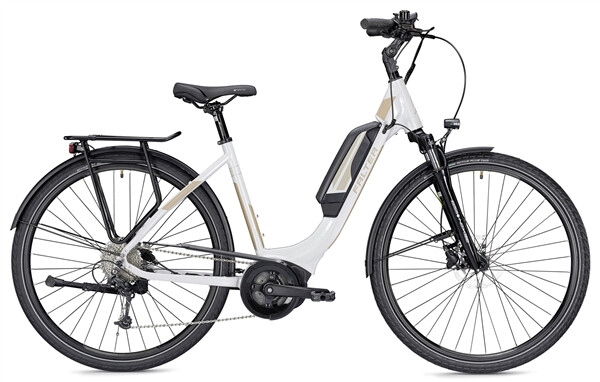 FALTER - E 9.0 RD 400 Wh Wave weiß/champagner