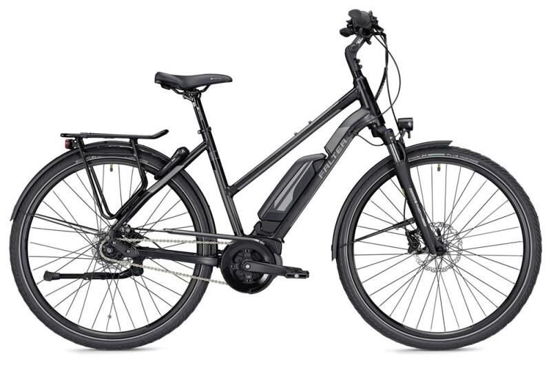 Falter E 9.5 FL Trapez schwarz/dunkelgrau matt E-Bike