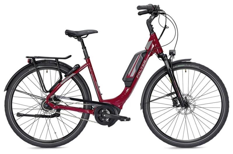 Falter E 9.5 FL Wave rot/dunkelgrau E-Bike