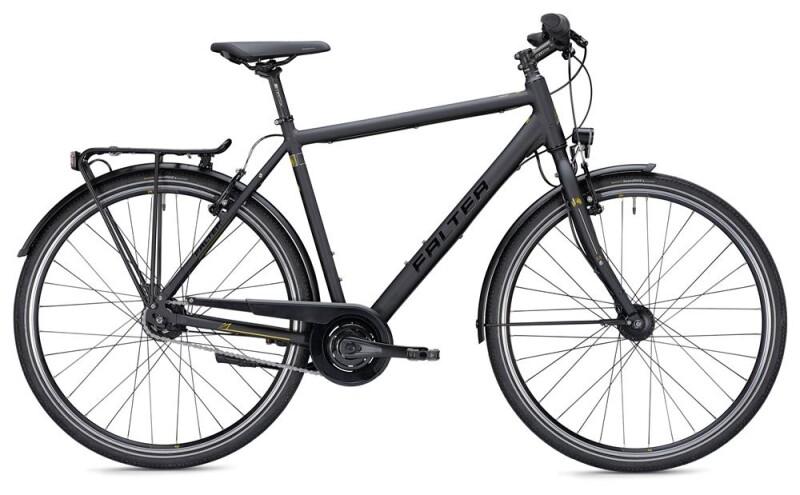 Falter U 5.0 Herren schwarz/gelb Matt Citybike