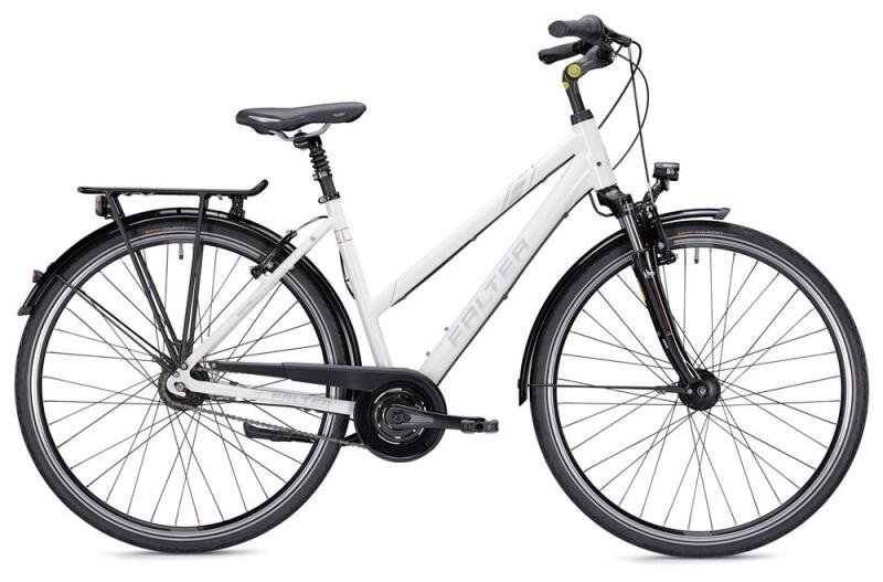 Falter C 5.0 Trapez weiß/silber Citybike