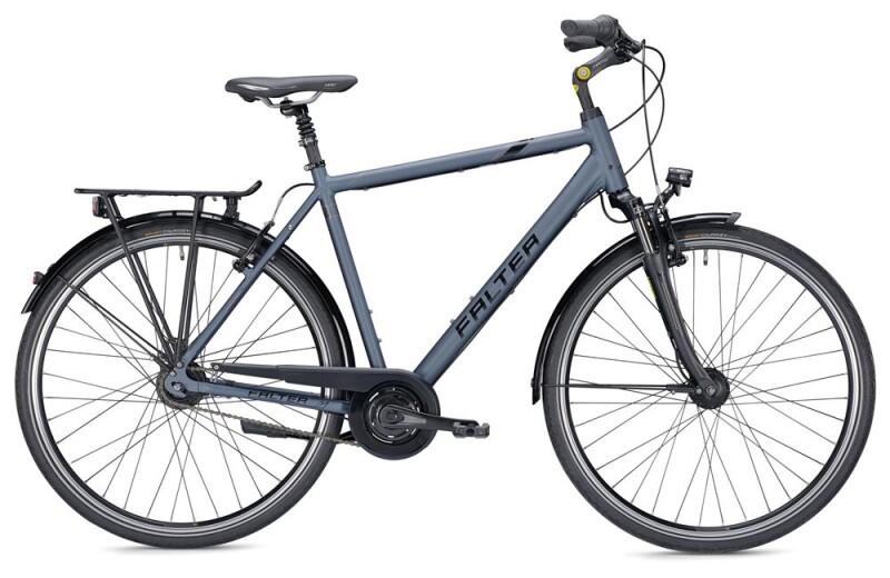 Falter C 5.0 Herren blau/schwarz Matt Citybike