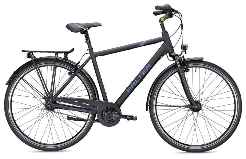 Falter C 4.0 Herren schwarz/blau Citybike
