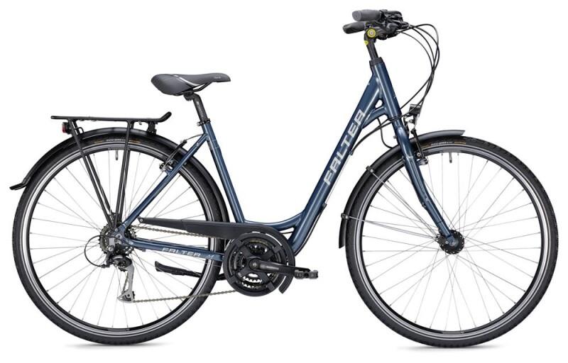 Falter C 3.0 Wave blau/silber Trekkingbike
