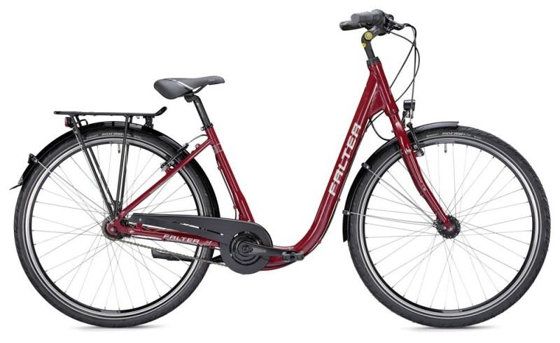 Falter C 3.0 Comfort rot/silber Citybike