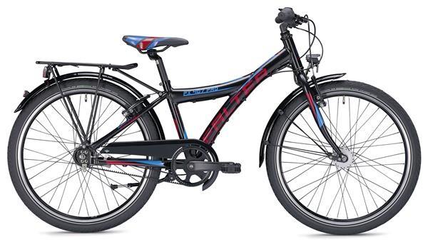 FALTER - FX 407 PRO Y schwarz/rot matt